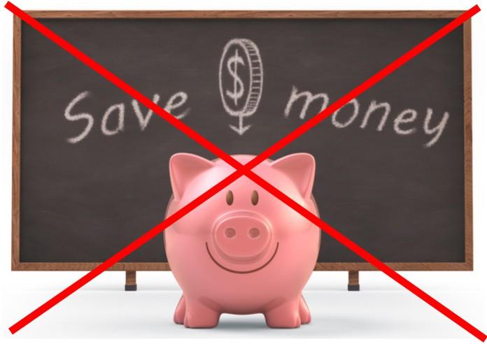 Stop sparen
