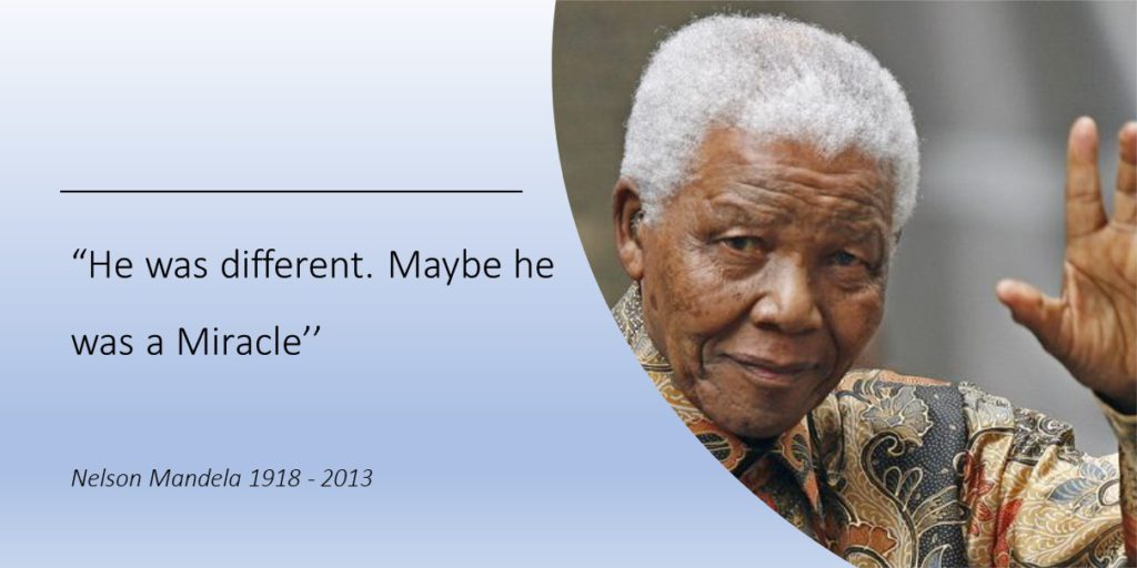 Nelson Mandela Different Miracle